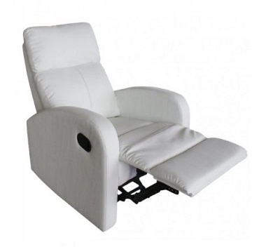 sillon relax reclonable blanco due home barato online