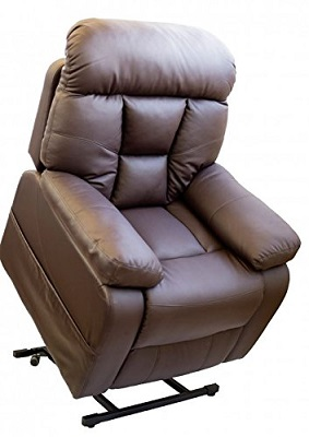 sillon relax deluxe marron chocolate barato