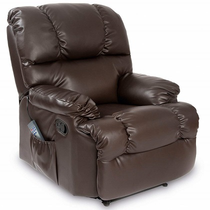 sillon relax marron chocolate comprar online