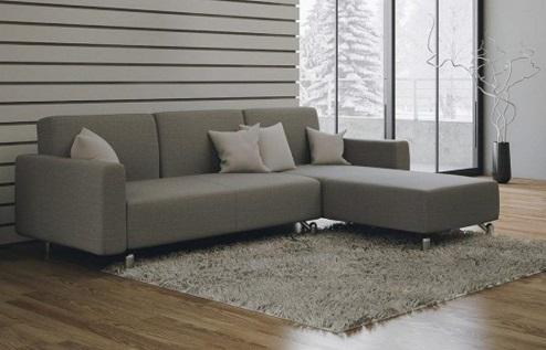 Sof cama splinter gris chaise longue barato sill n de relax for Chaise longue cama baratos