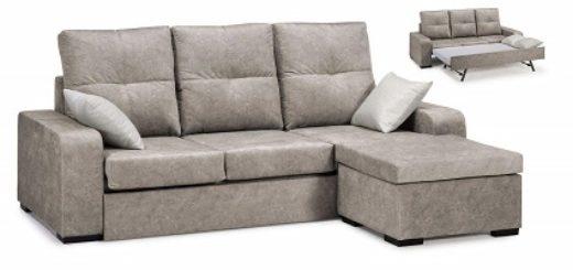 Sill n blanco reclinable para cine en casa precio m s for Comprar chaise longue barato online