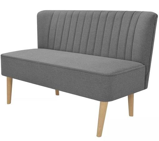 comprar sofa dos plazas vislone madera precio barato online