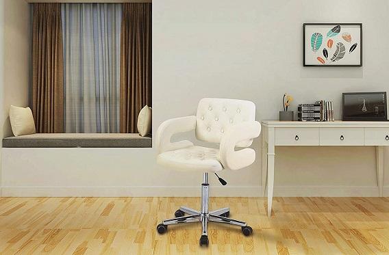comprar silla de oficina blanca giratoria precio barato online