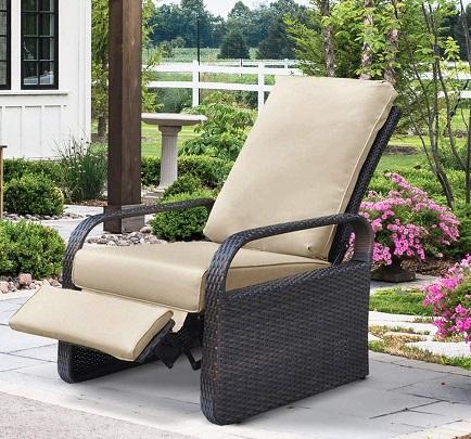 comprar sillon reclinable terraza jardin precio barato online