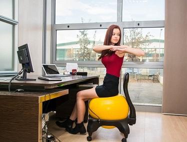 comprar silla con bola de ejerciico precio barato online