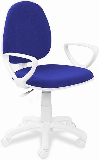 comprar silla escritorio juvenil azul precio barato online