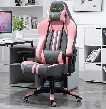 comprar silla gaming rosa precio barato online