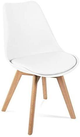 comprar sillas mahaus blancas precio barato online