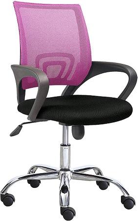 comprar silla escritorio adec rosa precio barato online