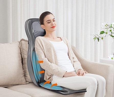 comprar masajeador de espalda shiatsu precio barato online