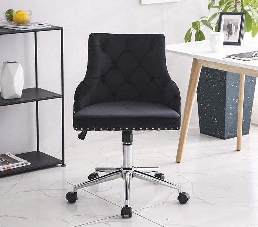 comprar silla oficina de tercipelo precio barato online