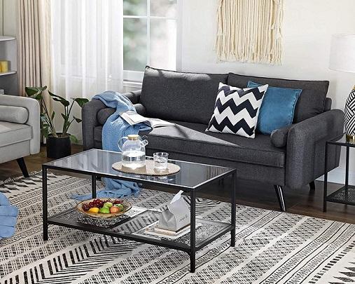 comprar sofa 3 plazas vasagle precio barato online