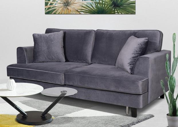 comprar sofa cama italiano 3 plazas terciopelo precio barato