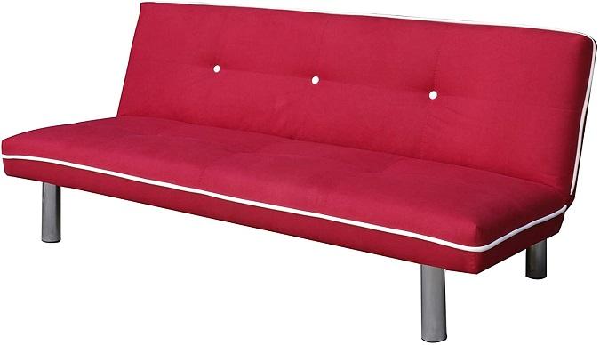 comprar sofa cama mueblix rojo precio barato online