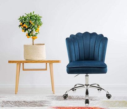 comprar silla de escritorio giratoria azul