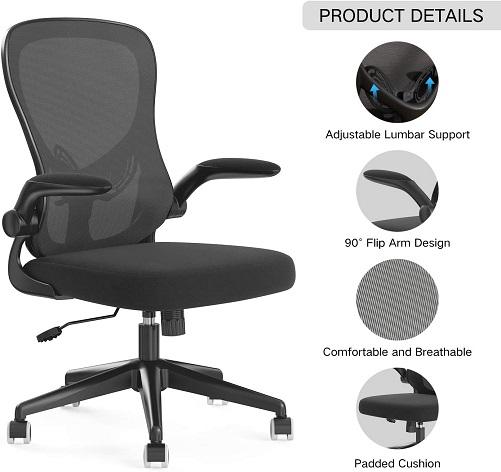 comprar silla de escritorio respaldo transpirable precio barato online