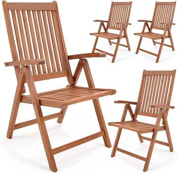 comprar sillas de jardin de madera plegables precio barato online