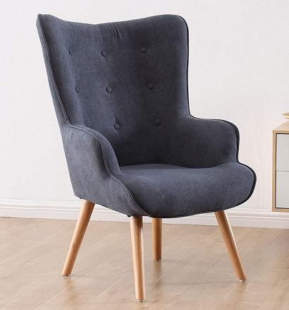 comprar sillon de diseño gris precio barato online