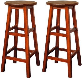 comprar taburetes altos madera maciza precio barato online
