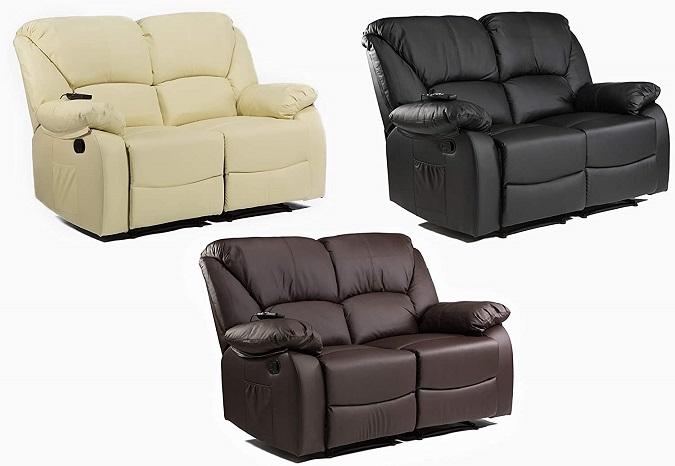 comprar sofa 2 plazas con masaje precio barato online