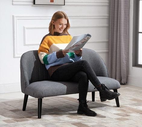 comprar sofa 2 plazas homcom precio barato online