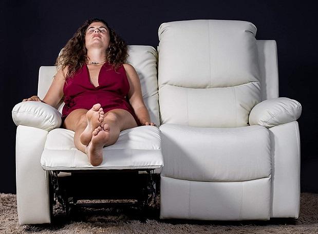 comprar sofa de masaje 2 plazas beige precio barato online
