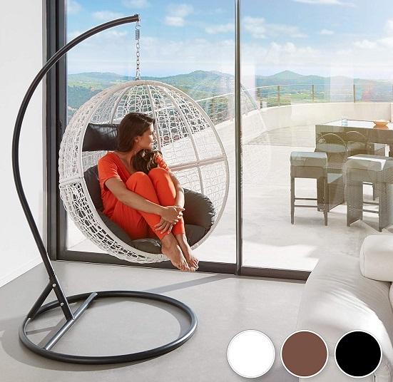 comprar sillon colgante acero jardin exterior precio barato online