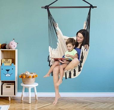 comprar sillon colgante de tela precio barato online