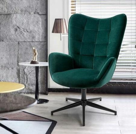 comprar silla terciopelo verde oscuro precio barato online