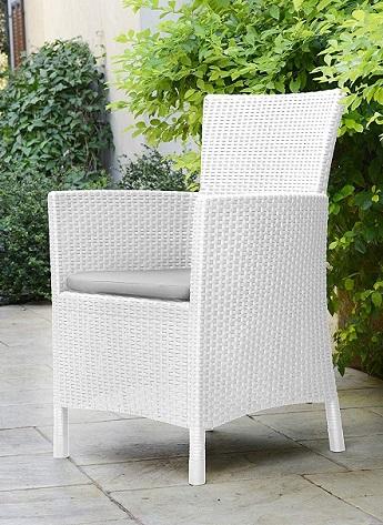 comprar sillon jardin blanco precio barato online