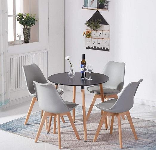 comprar silla nordica gris precio barato online