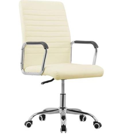 comprar silla oficina color crema precio barato online