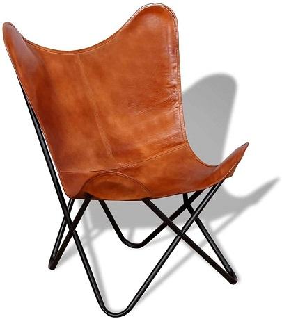 comprar silla mariposa cuero precio barato online