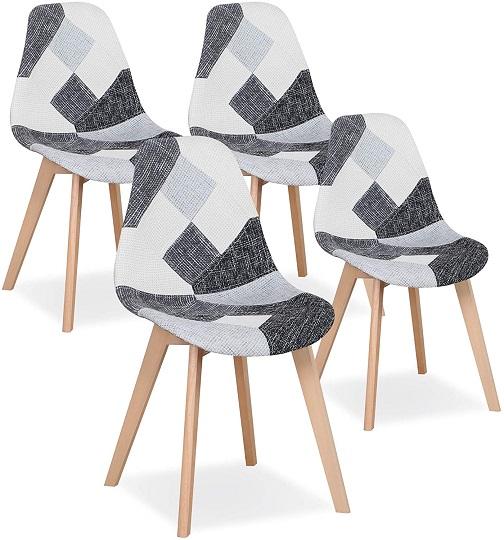 comprar silla nordica pathwork gris precio barato online